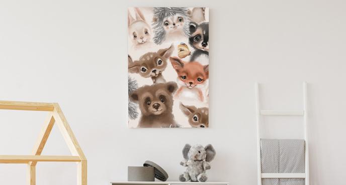 Ozdobny obraz do pokoju dziecka