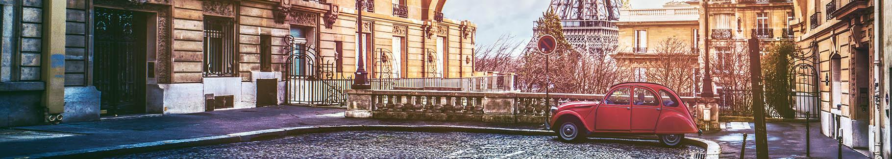 Panoramiczna fototapeta Paryż