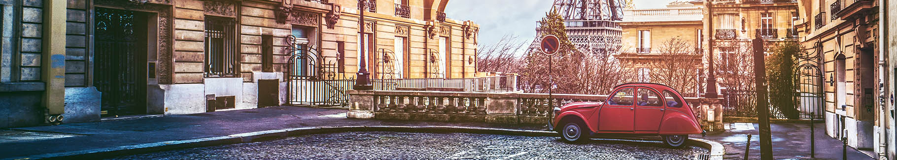 Fototapeta ulica Paryża
