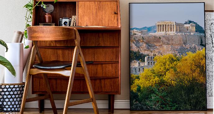 Plakat Akropol ateński