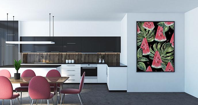 Plakat arbuz do kuchni