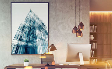 Plakat architektura do biura