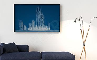 Plakat architektura miasta
