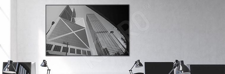 Plakat architektura nowoczesna