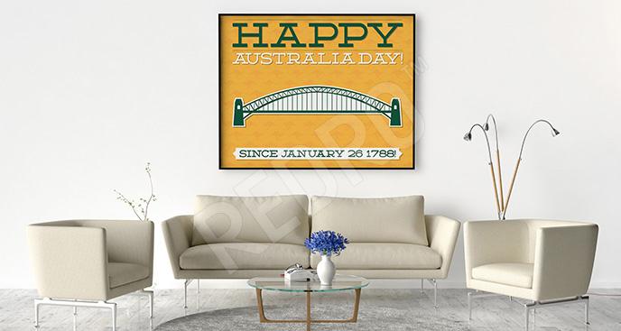 Plakat Australia Day
