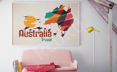 Plakat Australia do salonu