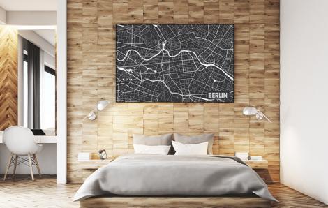 Plakat Berlin – plan miasta