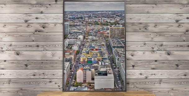 Plakat Berlin z góry