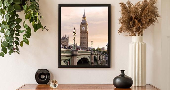 Plakat Big Ben