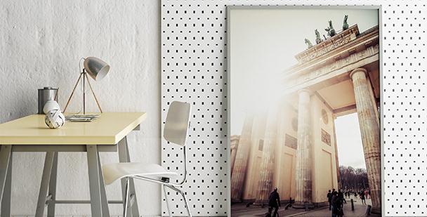 Plakat Brama Brandenburska