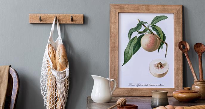 Plakat w stylu vintage do kuchni
