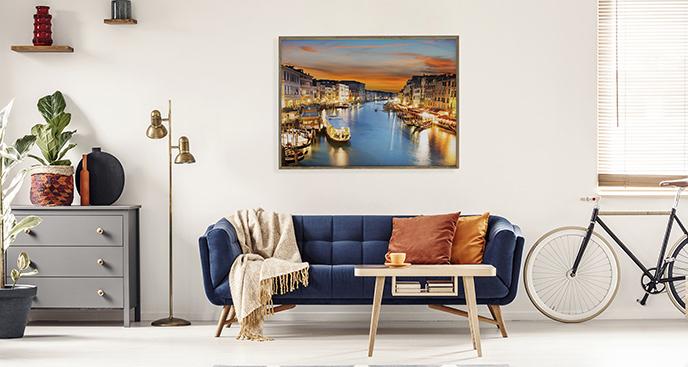 Plakat Canal Grande do salonu