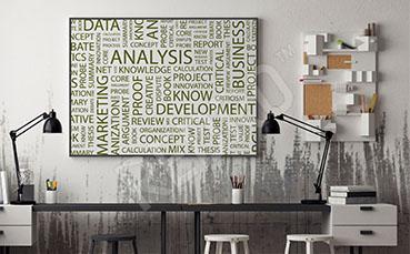 Plakat do biura napisy