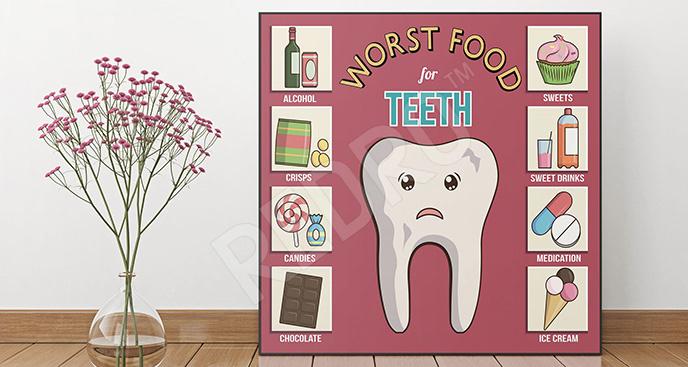 Plakaty Do Dentysty Na Wymiar Redropl