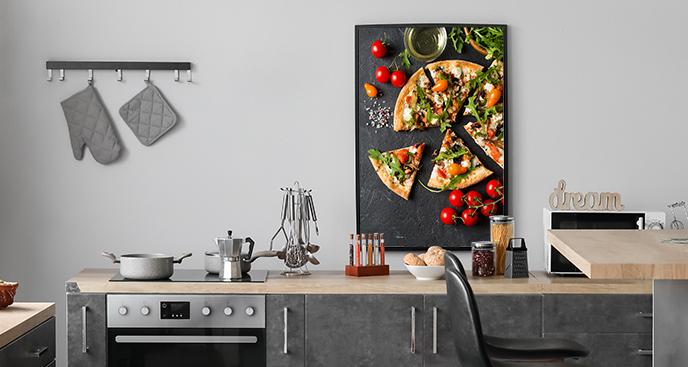 Plakat do kuchni – pizza