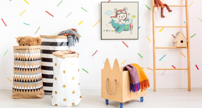 Plakat do pokoju dziecka z podróżnikiem