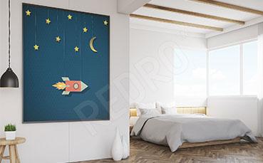 Plakat do sypialni gwiazdy