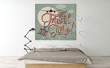 Plakat do sypialni podróże