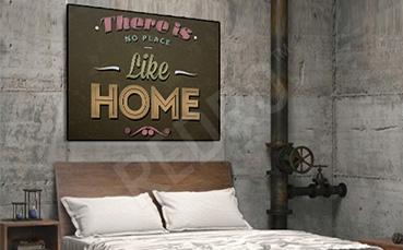 Plakat do sypialni vintage