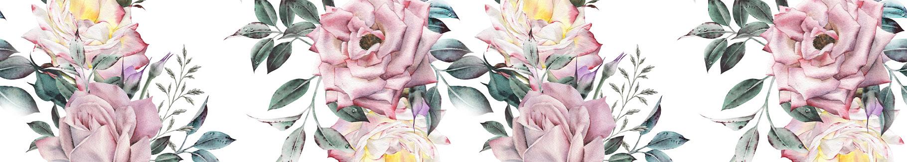 Plakat do sypialni z kwiatami