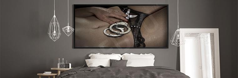 Plakat erotyczny do sypialni