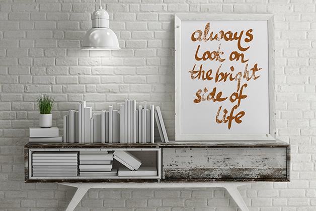 Plakat - Inspirujący cytat