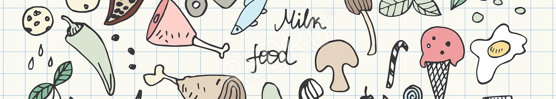 Plakat jedzenie do bistro