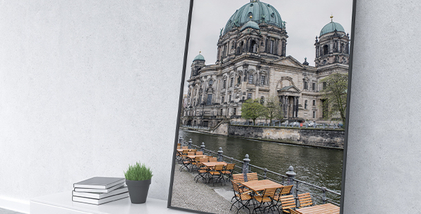 Plakat Katedra Berlińska