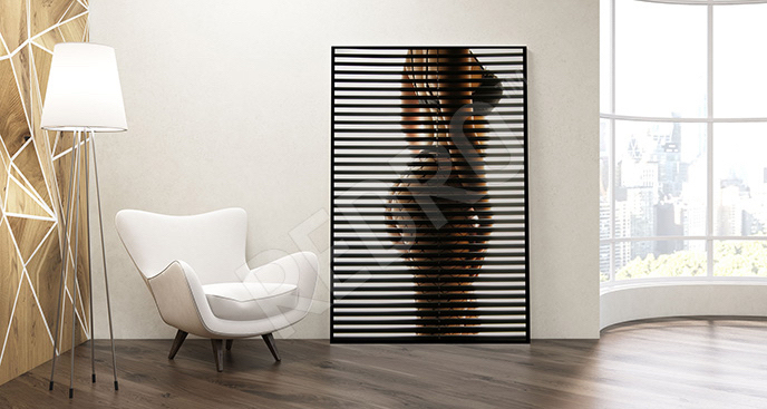 Plakat kobiece ciało