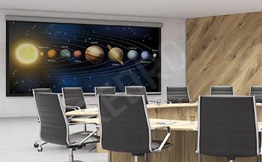 Plakat kosmos Układ Słoneczny