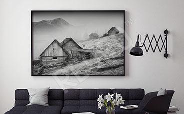 Plakat krajobraz górski