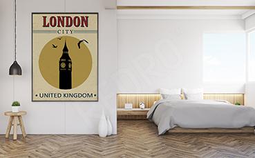 Plakat Londyn Big Ben