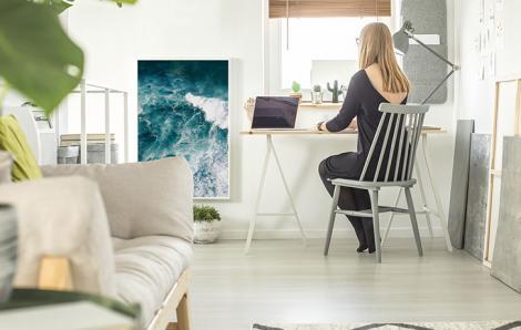 Plakat morze do biura