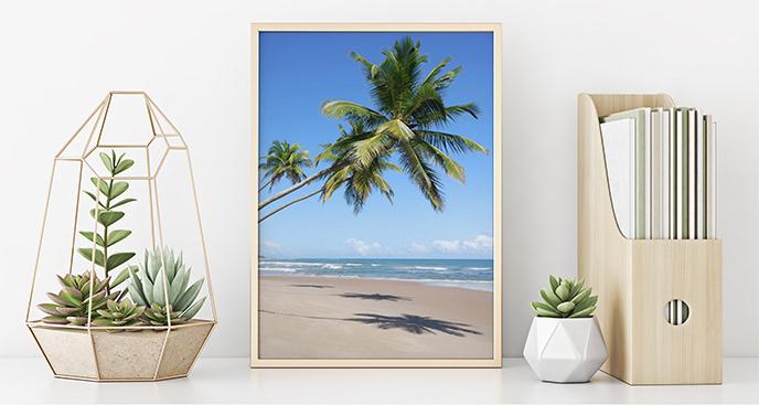 Plakat morze w tropikach