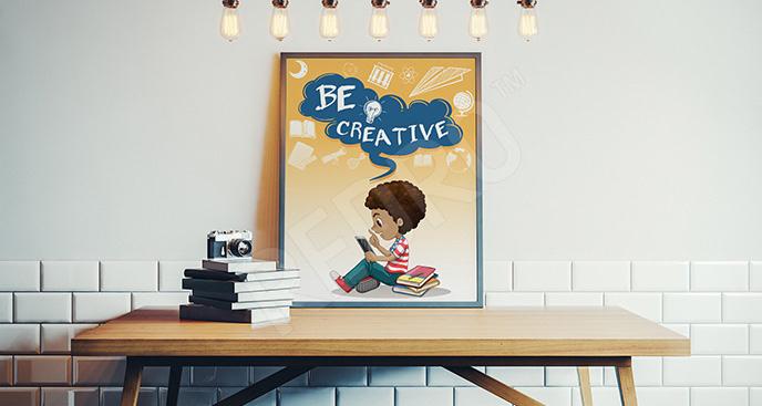 Plakat motywacyjny dla dzieci