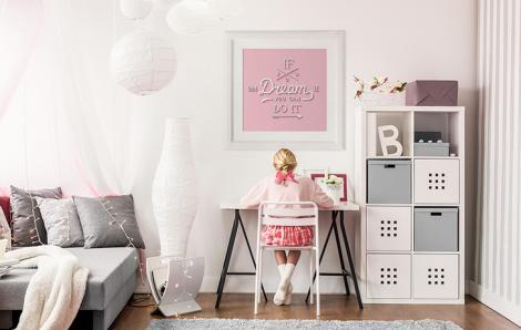 Plakat motywacyjny styl minimalistyczny