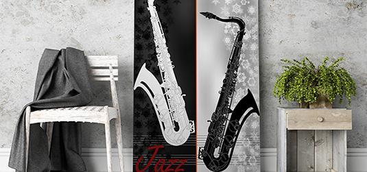 Plakaty muzyczne do pokoju melomana