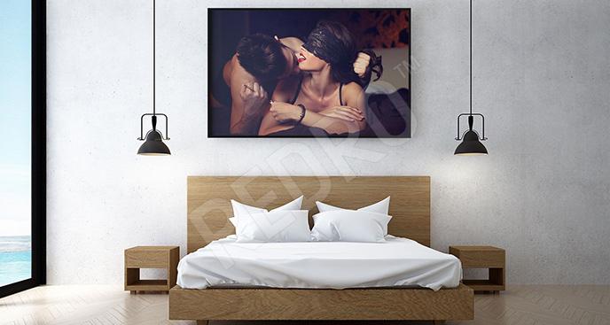 Plakat para kochanków