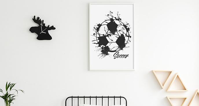 Plakat sport: piłka nożna