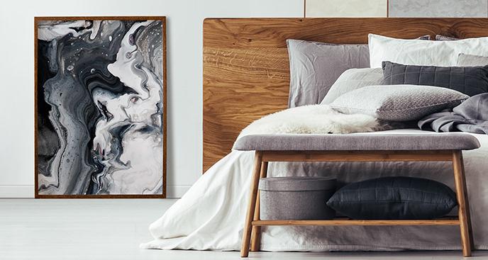 Plakat styl abstrakcyjny
