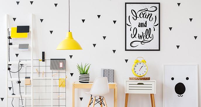Plakat typografia dla nastolatka