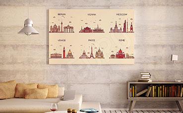 Plakat typy architektury