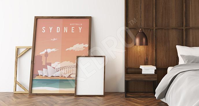 Plakat vintage Sydney