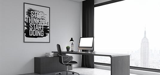 Urządzamy domowe biuro: inspiracje dla pracujących z domu