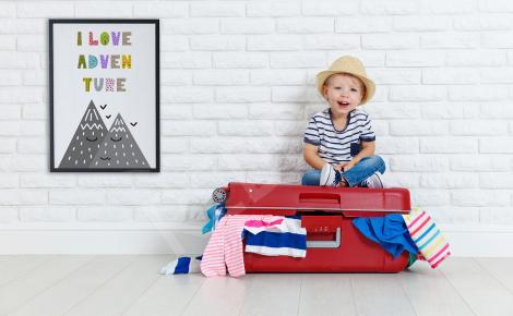 Plakat w stylu skandynawskim dla dziecka