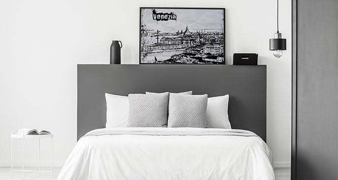 Plakat Wenecja w stylu vintage