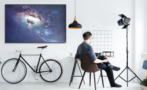 Plakat Wszechświat 3D do biura