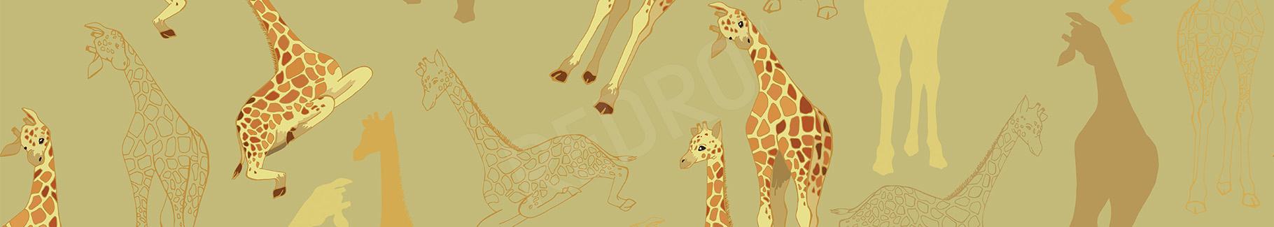 Plakat zwierzęta afrykańskie