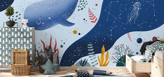 Bajkowe dekoracje – poznaj dziecięce fototapety i dodatki idealne do pokoju malucha