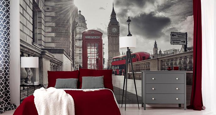 Przestrzenna fototapeta Londyn